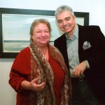 Με την Δ/ντρια του Μουσείου Γ. Τσαρούχη Νίκη Τσαρούχη - Γρυπάρη