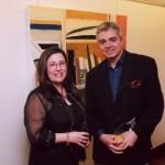 Με την Δ/ντρια του Εβραϊκού Μουσείου Ζανέτ Μπαττίνου