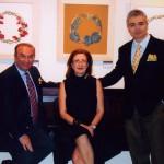 Με τον Δημήτρη Τσίτουρα & την πρέσβυ Κατερίνα Μπούρα στην Νέα Υόρκη