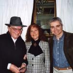 Με τον συγγραφέα Βασίλη Βασιλικό & την μουσικό Βάσω Παπαντωνίου