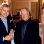 Με τον σκηνοθέτη Peter Stein