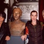 Με τον Δ/ντη των μπαλέτων Μπεζάρ Ζιλ Ρομάν & την πρώτη μπαλαρίνα Ελίζαμπεθ Ρος