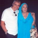Με την ηθοποιό Καίτη Παπανίκα