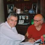Με τον συντηρητή αρχαιοτήτων Τάσο Μαργαριτώφ