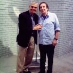 Με τον τραγουδιστή, ηθοποιό και εικαστικό Άγγελος Παπαδημητρίου