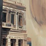 «Η θριαμβευτική θέα του απογεύματος» Λάδι σε ξύλο, 80Χ45 εκ. (2003)