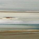 «Από τον Σαρωνικό» ΙII Λάδι σε ξύλο, 20Χ100 εκ. (2007)