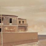 «Κύθηρα, επίλογος» Λάδι σε ξύλο, 30Χ45 εκ. (2004)