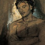 «Nέος από την Κω» Λάδι σε ξύλο, 45Χ30 εκ. (1996)