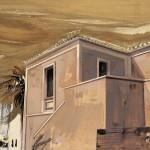«Συνάντηση στα Κύθηρα» Λάδι και χρυσό σε ξύλο, 30Χ45 εκ. (2004)