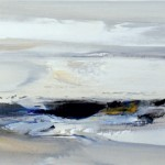 «Aπό παραλία της Κέρκυρας» Λάδι σε μουσαμά, 30Χ130 εκ.(2009)
