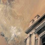 «Δυτικά των Αθηνών» Λάδι σε ξύλο, 80Χ60 εκ. (2002)
