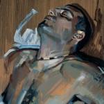 «Πορτραίτο» ΙI - Άγ. Σεβαστιανός Λάδι σε ξύλο, 50Χ35 εκ. (2005)