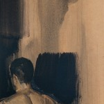 «O Δημήτρης» Λάδι σε ξύλο, 72,5Χ27,5 εκ. (2001)