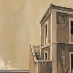 «Kύθηρα απόγευμα» Λάδι σε ξύλο, 45Χ30 εκ. (2004)