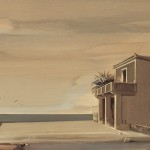 «Στο τέλος του καλοκαιριού» Λάδι σε ξύλο, 40Χ90 εκ. (2004)