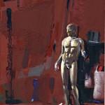 «Eπιθαλάμιο» Λάδι σε ξύλο, 18,5Χ13 εκ. (2010)