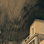 «Στο λιμάνι» ΙΙ Λάδι σε ξύλο, 93Χ30 εκ. (1998)