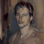 «Πορτραίτο» ΙV Λάδι σε ξύλο, 50Χ35 εκ. (2005)