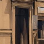 «Στο Μεταξουργείο ή Καλησπέρα σας κύριε Φρόιντ» Λάδι σε ξύλο, 70Χ50 εκ. (2001)